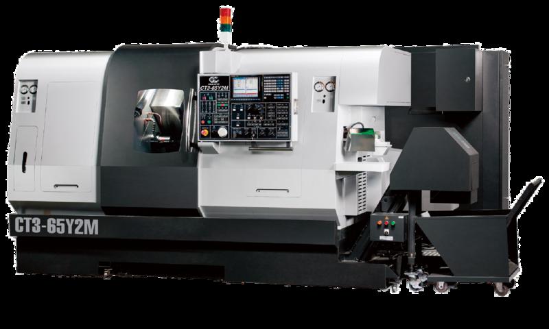Schrägbett-Twin Turn CNC-Drehzentrum CT3-65 Y2M